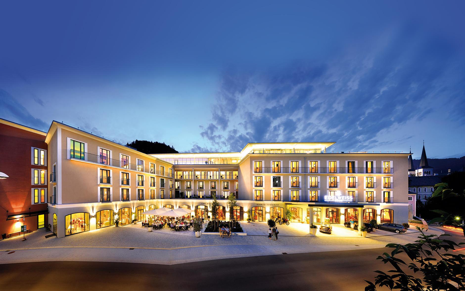 Hotel edelweiss berchtesgaden s deutschland for Wellness design hotel deutschland