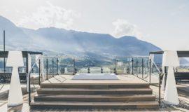 Ausblick Vom Whirlpool C Tiberio Sorvillo Hotel Golserhof