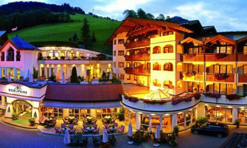 Hotel EDELWEISS Großarl - Der Stern in den Alpen.