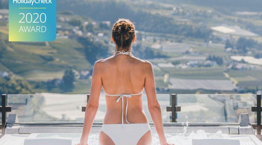 Im Whirlpool Entspannen Bei Traumhaften Bergblick C Tiberio Und Golserhof Hotel Golserhof