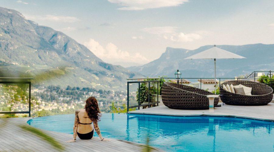 Infinitypool Mit Traumhaftem Bergblick Hotel Golserhof