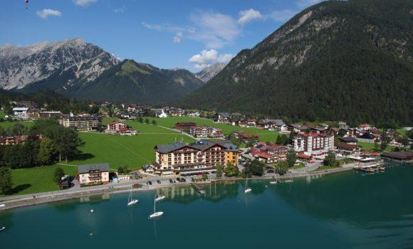 Blick von Oben Hotel Post am See
