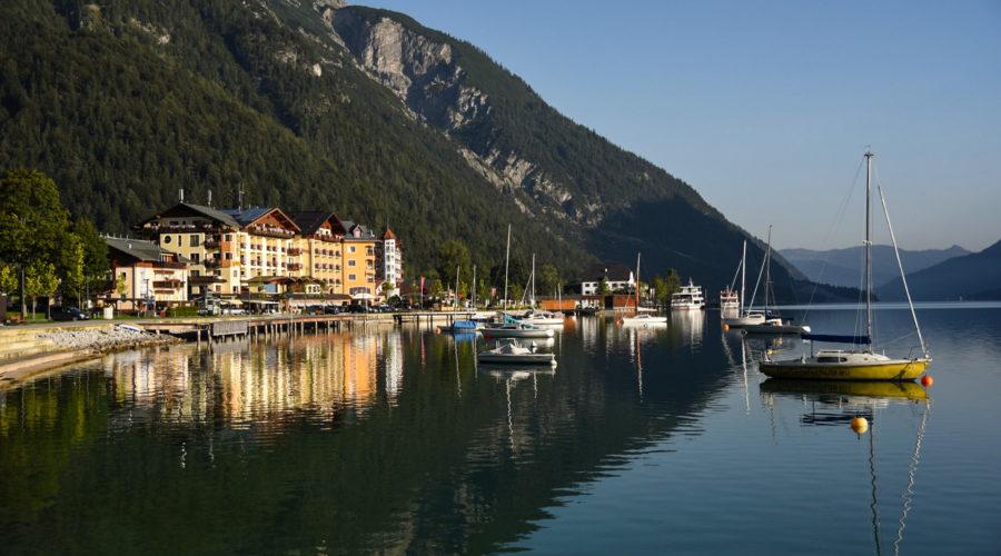 Aussenansicht Hotel Post Am See Pertisau Achensee Oesterreich
