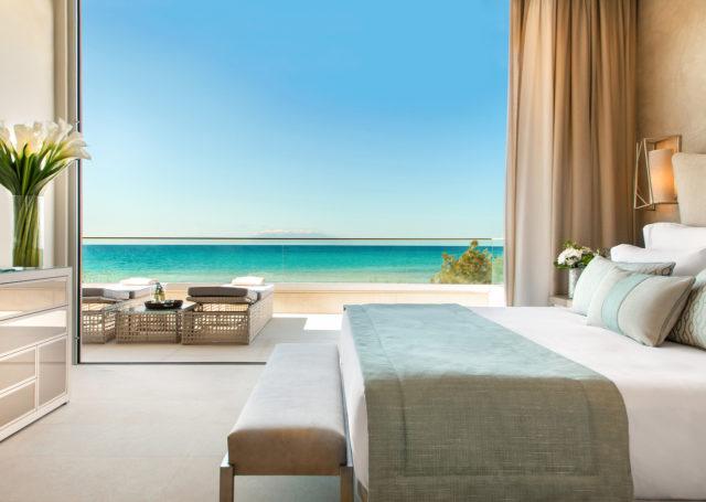 Bed Seaview Sani Dunes C Sani Resort