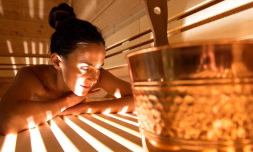 Entspannen In Der Sauna