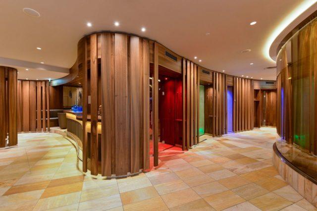 Sauna Panorama Im Royal Wellness Spa Trofana Royal