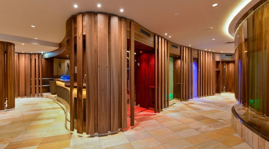 Sauna Panorama Im Royal Wellness Spa Trofana Royal
