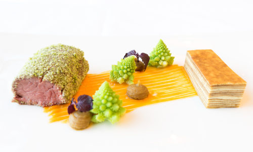 Chefkochs Damnjan Kulinarische Kreation Hotel Nidum
