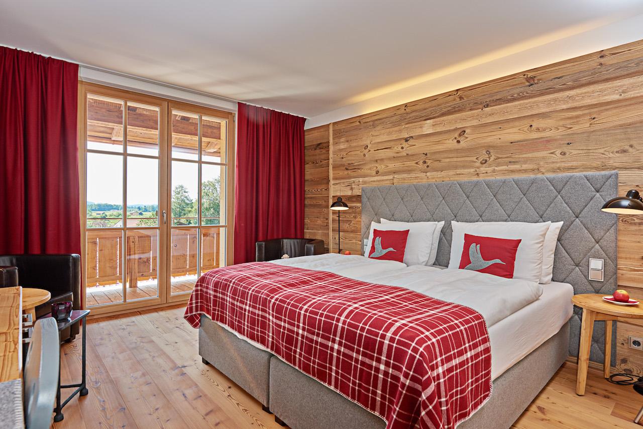 Neue Zimmer und Suiten im Golf Resort Achental