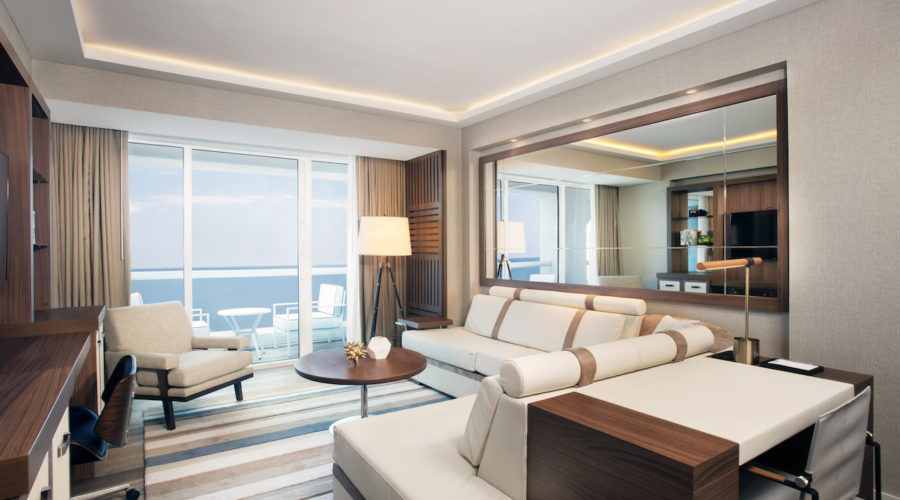Living Room (3) Conrad Fort Lauderdale Beach
