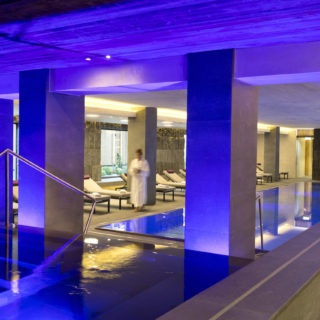 Eingang Zum Spabereich Elisabethhotel