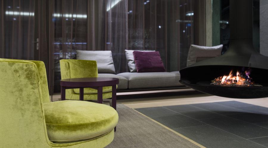 Relaxlounge Mit Sitzgelegenheiten Elisabethhotel