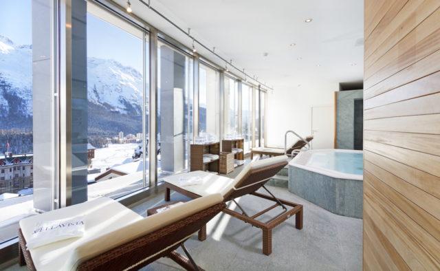 Ruheliegen Mit Winterpanorama Art Boutique Hotel Monopol