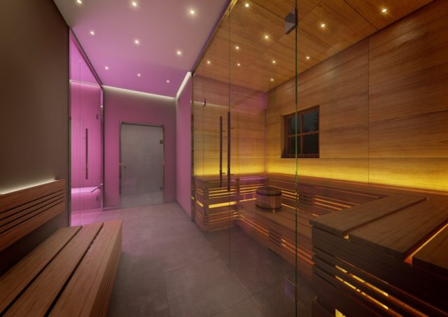Tennerhof Luxury Chalets Private Spa © Abdruch Honorarfrei