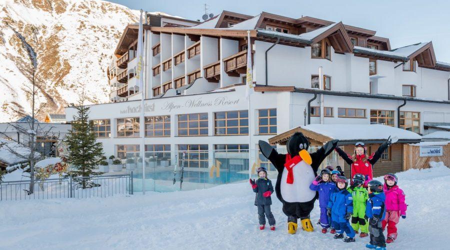 Kinderskikurs Vorm Hotel Hochfirst C Alexander Maria Lohmann Hotel Hochfirst