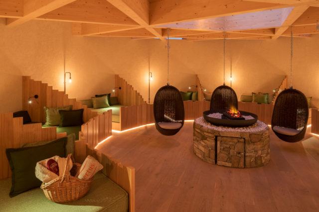 Ruhepavillon Alpin Panorama Hotel Hubertus