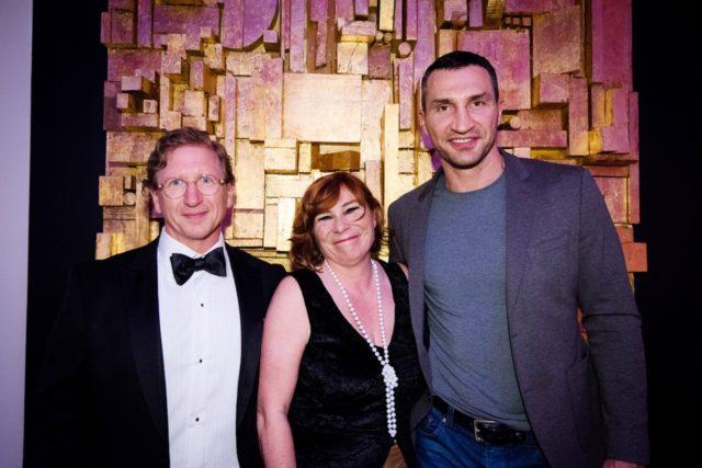 Andreas Müller, Astrid Oberhummer (GF) & Wladimir Klitschko