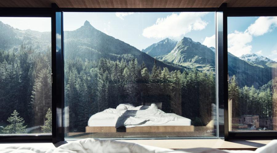 Gradonna Resort Ausblick Berge