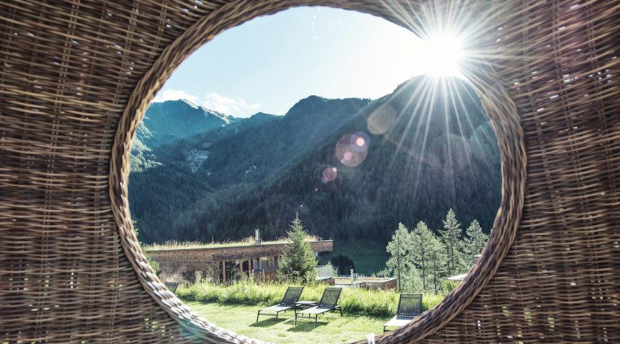 Gradonna Resort Ausblick Kreis