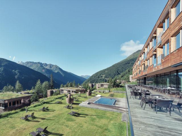 Gradonna Resort Ausblick Terrasse 1