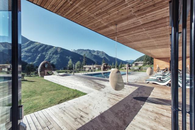 Gradonna Resort Ausblick Terrasse 2