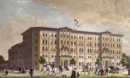 Hotel Vier Jahreszeiten 1858