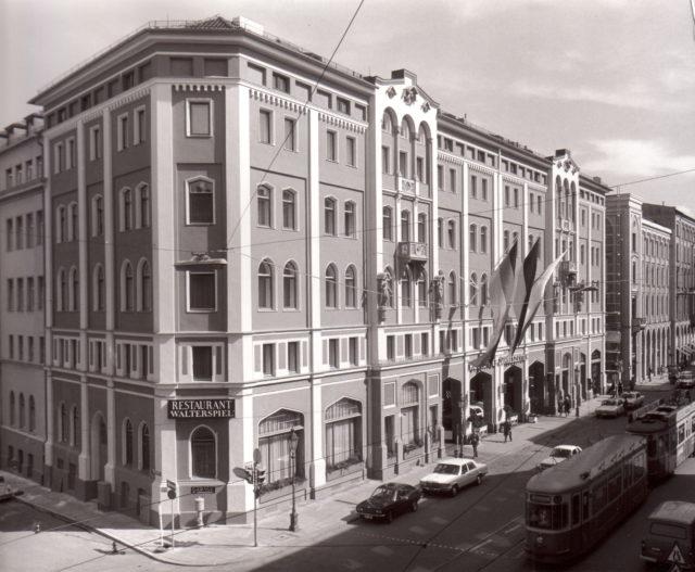 Hotel Vier Jahreszeiten 1960s