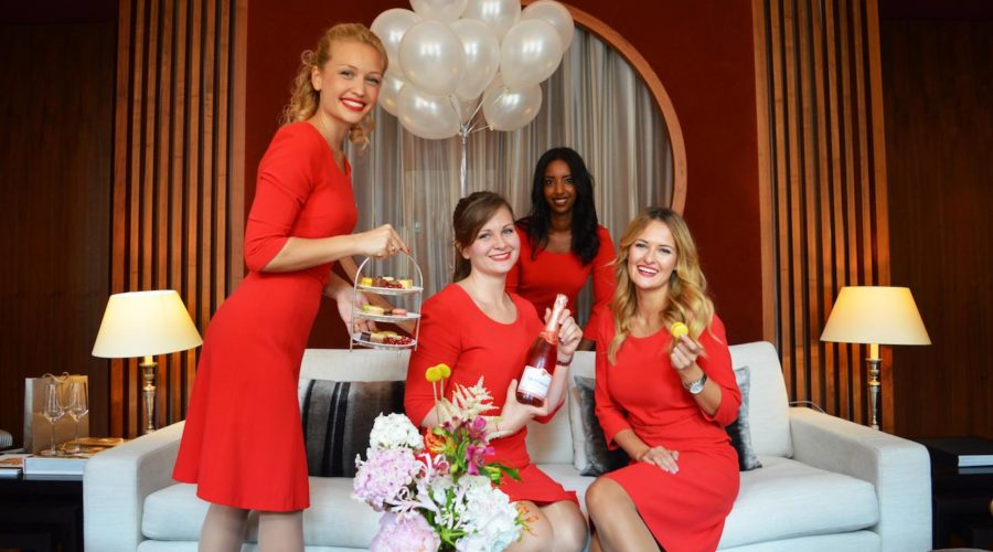 Guest Relations Ladys In Red 2018