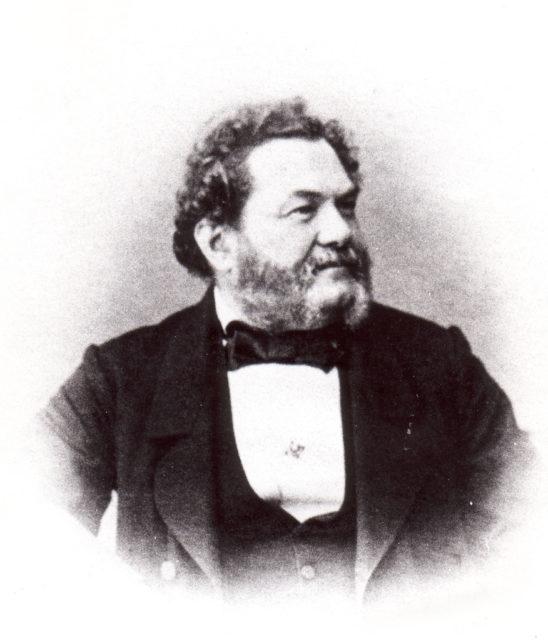 Hotelbesitzer August Schimon 1865