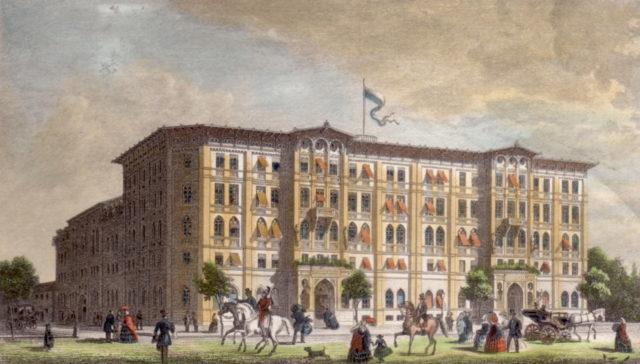 Vier Jahreszeiten Ansicht 1858