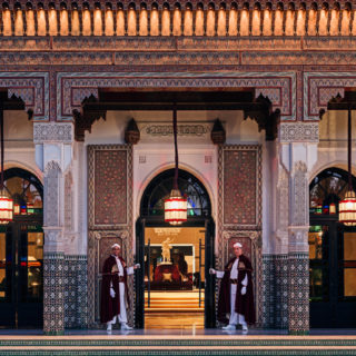 Entrance To The Hotel, La Mamounia 2016