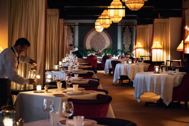 Restaurant Francais, La Mamounia 2016
