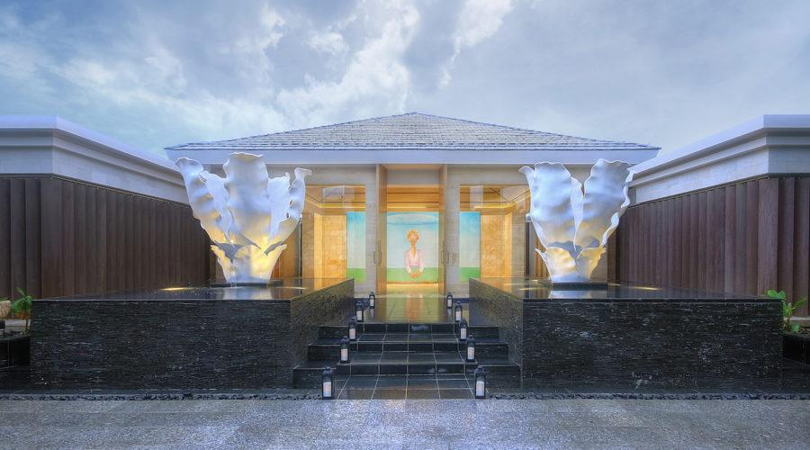 Mulia Spa Entrance
