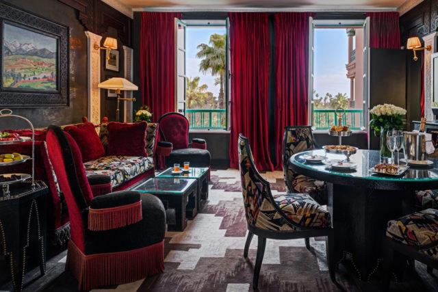 Salon, Suite Churchill Chambre 300, La Mamounia 2016