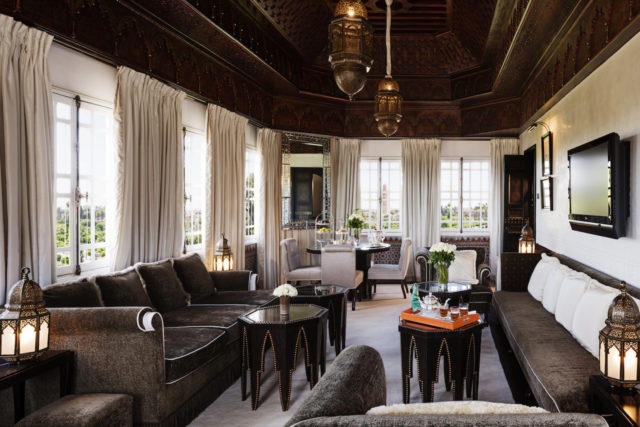 Suite Koutoubia, Room 330, La Mamounia 2016