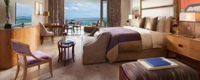 The Baron Suite Bedroom (purple)