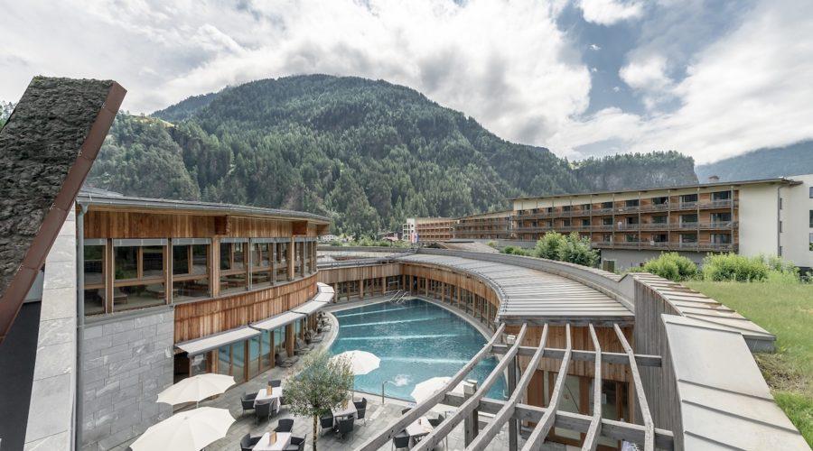 AQUA DOME Aussenansicht Hotel Und Therme