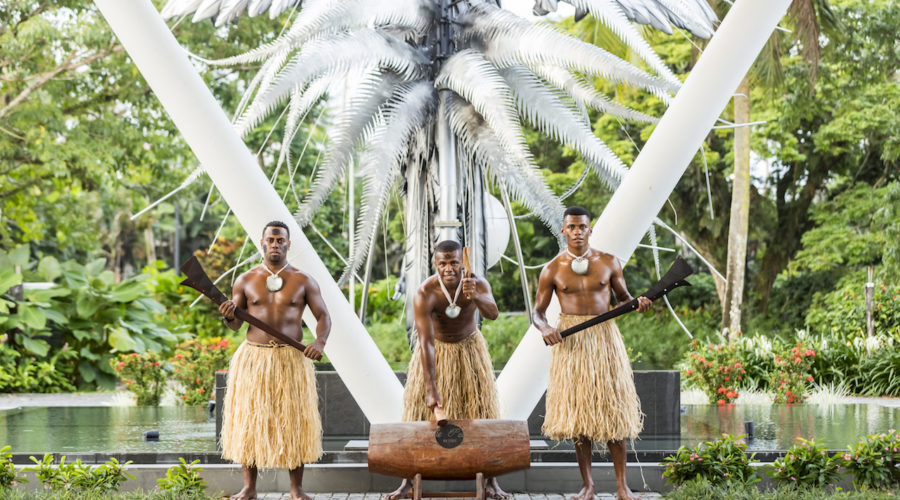 Jpg Warriors Beating Lali Ctourism Fiji