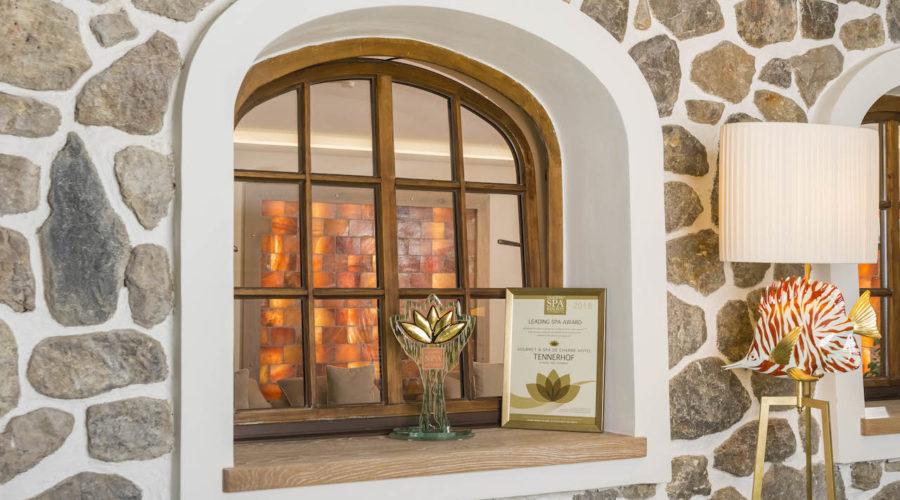 Das Relais & Châteaux Tennerhof Gourmet & Spa de Charme Hotel ***** in Kitzbühel gewinnt den internationalen Leading Spa Award