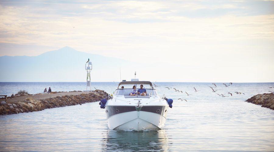 Boat Sani Dunes (c)Sani Resort