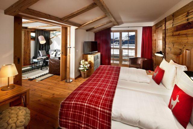 Grosszuegiger Schlafbereich Hotel Kitzhof 1