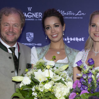 Hoteldirektor Johannes Mitterer, Sopranistin Nadine Sierra, Elina Garanca