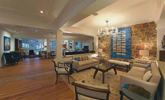 The Atlantic Hotel Jersey Sitting Room