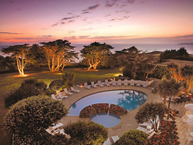 The Atlantic Hotel Jersey Sunset