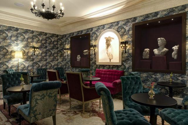 Hotel De La Ville Da Sistina Lounge Rocco Forte Hotels