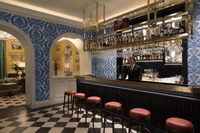 Hotel De La Ville Julep Bar Rocco Forte Hotels