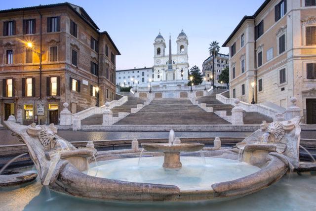 Hotel De La Ville Piazza Di Spagna Rocco Forte Hotels