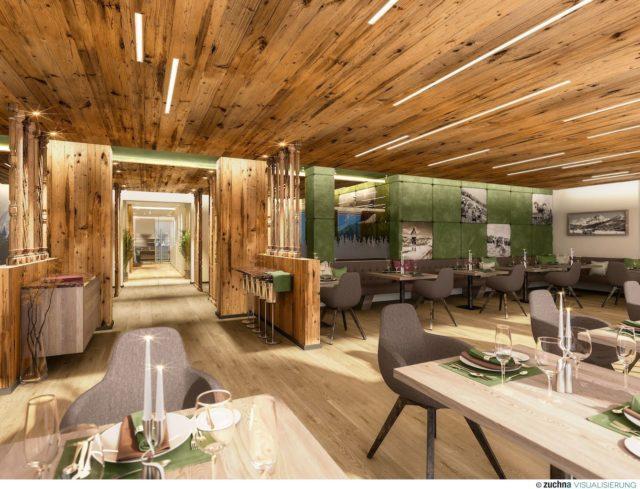 Stylisches Ambiente Im Restaurant C Alm.gut Gmbh Co Kg Almgut 0