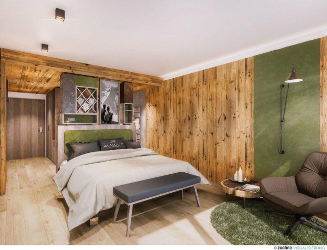 Visualisierung Eines Doppelzimmers C Alm.gut Gmbh Co Kg Almgut