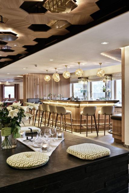 Bar im Hotel Goldener Berg